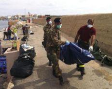 naufragio en Lampedusa